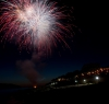 End of evening entertainment - seaside town of Marathopoli