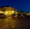 The resort at night