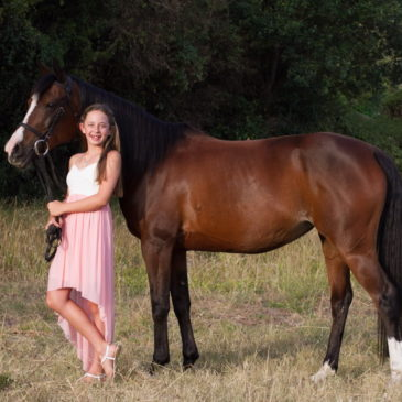 Ladies and their horses